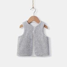 Colete Infantil Children Vest Kids Coat Winter Gilet Toddler Boys Vest Baby Girl Clothing Cardigan Infant Clothes Jacket Waistco