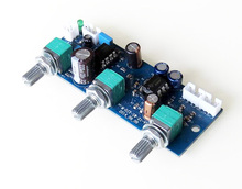2.1 channel front board  Low Pass Filter Board Subwoofer Front Board First Single Power Amplifier