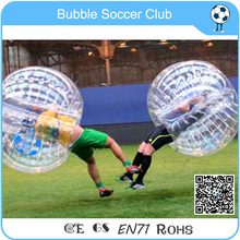 Hot Sale PVC Bumper Bubble Ball For Soccer,Body Zorbing Bubble Ball For Football Free Shipping(China)