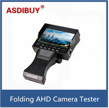 "4.3"" TFT LCD MONITOR COLOR 1080P/ 960P/720P/ 960H Grip and Folding AHD CAMERA TESTER With Network Cable Testing device for cctv"