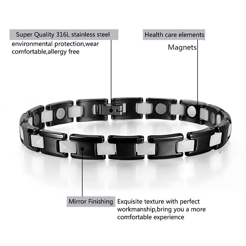 Ceramic Hematite Bracelet Bangle ORB-216-3