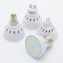 GU10 LED 6W 9W 12W E27 220V Lamp MR16 Spotlight 48LED 60LED 80LED 2835 SMD E14 Light Chandelier Replace Halogen Bulb