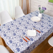 2017 New Spring Linen Table Cloth Chinese Style High Quality Tablecloth Table Cover manteles para mesa Free Shipping(China)