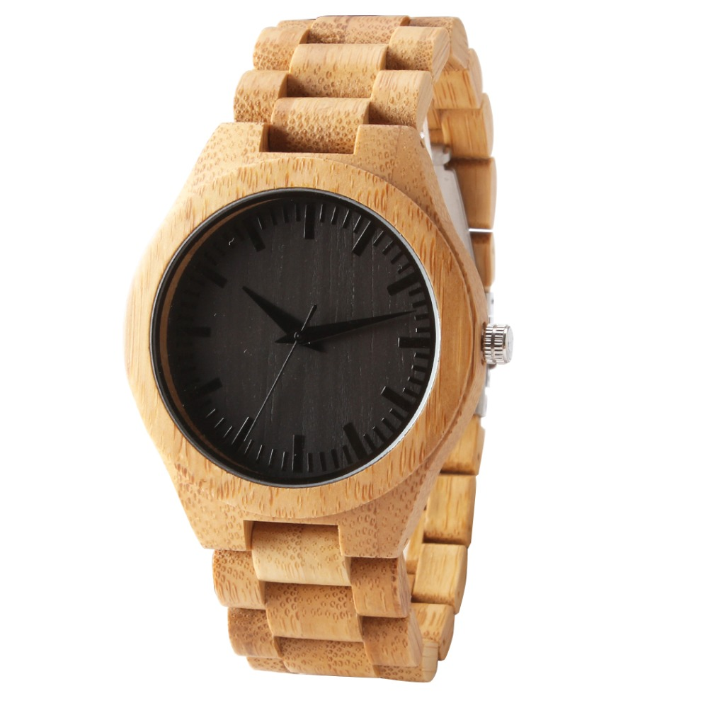 fashion Eco-Friendly Red Sandal Wood Health Watches Uwood Brand Wooden Watch Japan  Wristwatch For Mens Women Lover Best Gife<br>
