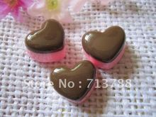 20pcs/lot flat back resin resin cake ,DIY resin craft accessories fashion resin cabochons(China)