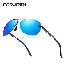 f11c26fd0a3 Rimless Sunglasses Men Polarized UV400 Vintage Aviator Mens Brand Design  2019 Pilot Goggle Classic Driving Sun