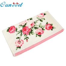 Ouneed 34*75cm Soft Cotton Face Flower Towel Bamboo Fiber Quick Dry Towels quality first DROP SHIP(China)