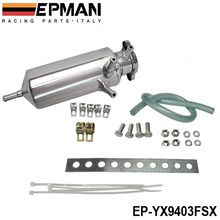 Epman Racing New Aluminum Breather catch tank Overflow Tank Type for Track or Drift Car For Honda Toyota BMW Nissan EP-YX9403FSX