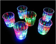 Free Shipping wholesale for Party, Bar, Festival Celebration, Flash Cup 5.5 x 4.5 x 4.5cm LED Shot Glass