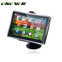 "Onever Portable Car 7"" Touch Screen Car Radio GPS Navigation Car Auto audio Player FM Built-in 4GB Built-in European Map(China)"