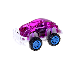 1PCS High Quality Cute Kids Baby Pull Back Car Toys Plastic Model Diecasts Toy Vehicles For Children Boys(China)