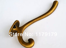 American countryside style cloths hook , zinc alloy cap hook antique brass hook 926(China)