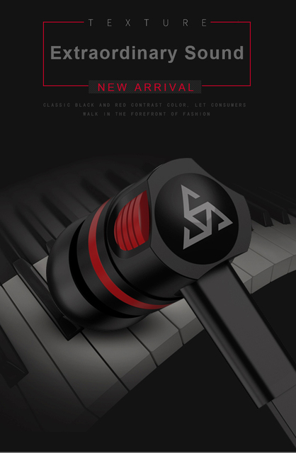 Musttrue Professional Earphone Super Bass Headset with Microphone Stereo Earbuds for Mobile Phone Samsung Xiaomi fone de ouvido 4