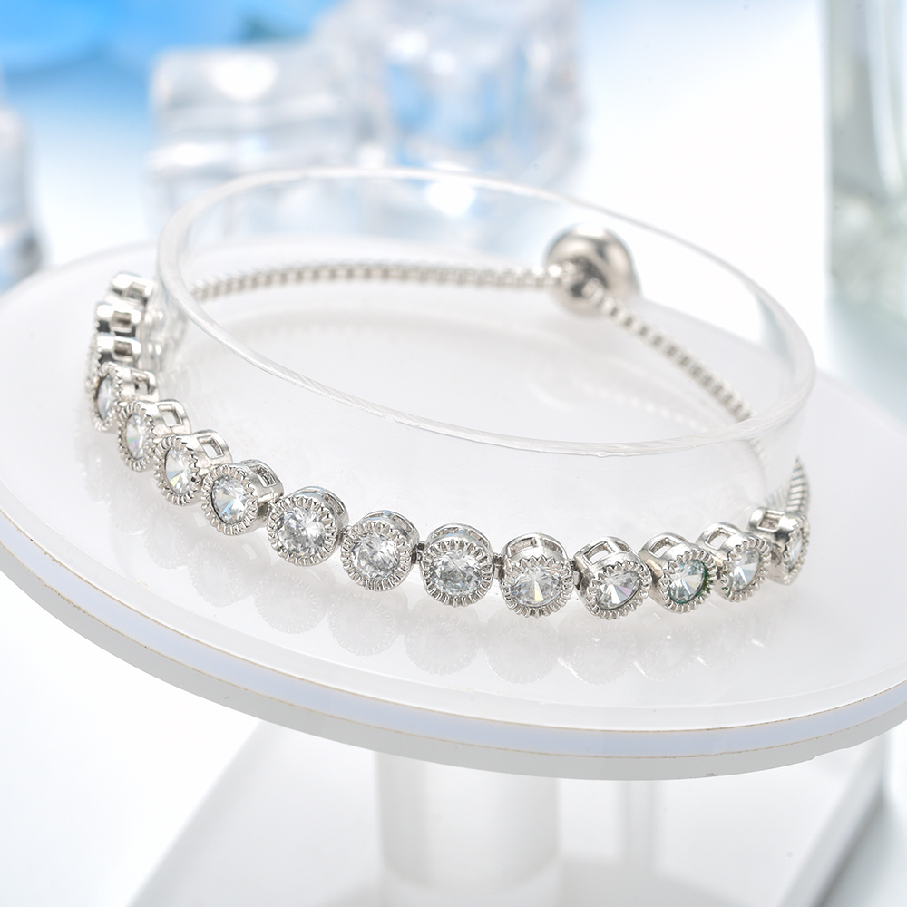Top Quality Cubic Zirconia Stone Bracelet for Princess