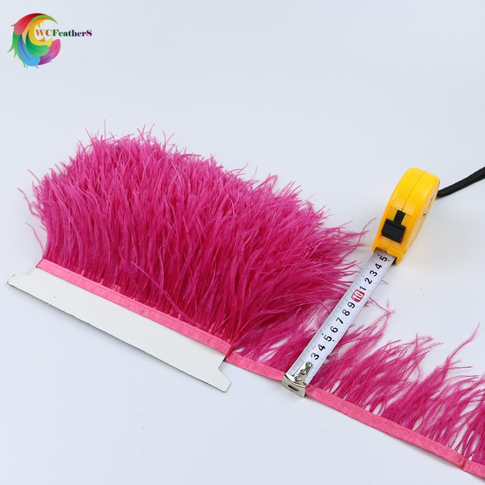 O2 8-10cm ostrich trims 5