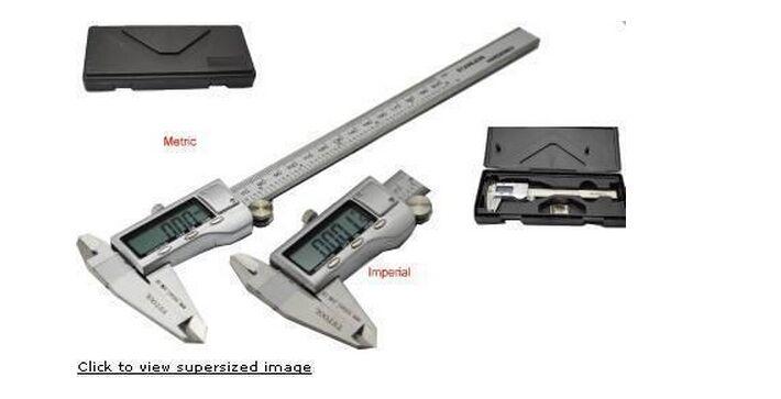 Brand New 0-300mm (12) Stainless steel Digital Vernier Caliper Micrometer Guage<br><br>Aliexpress