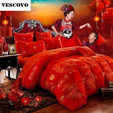 Home wedding textile articles bed linen comforter china queen size winter comforter(China)