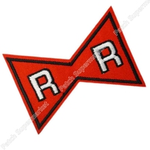 "3"" Dragon Ball Z Red Ribbon Symbol Logo Movie TV Series Anime Cosplay Embroidered Emblem iron on patch Baseball Cap Badge(China)"