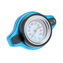 Car Style Thermostatic Radiator Cap Cover with Water Temp Temperature Gauge 1.3BAR for Cars