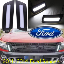 Ranger day light,2011~2014,LED,Free ship!2pcs,car-detector,Ranger fog light,car-covers,aspire,bronco,cougar,contour(China)