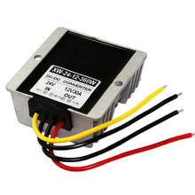New Arrival DC 24V Step Down To 12V 30A 360W Power Supply Converter Waterproof Buck Module Regulator Voltage(China)