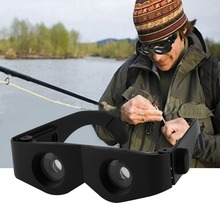 Fishing Portable Glass Style Black Telescope & Magnifier For Fishing Hiking Binoculars Newest