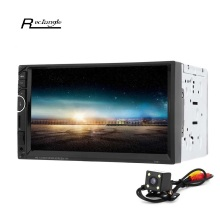 7'' 2 Din Car Video Player DVD Player 2Din Car Video MP5 Player Touch Screen Bluetooth FM Radio support Rear View Camera