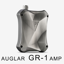 2016 New AUGLAMOUR AUGLAR GR-1 HIFI AMP Discrete Class A Portable Earphone HIFI Amplifier Metal Design Free Shipping
