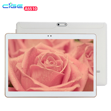 "10.1 inch A5510 Octa Core 1.3GHz Ram 4GB Rom 64GB Tablet Android Phone Call Tablet PC Computer tablette Bluetooth/ GPS 10""(China)"