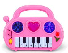 16*3*12CM Electronic Organ Toy Musical Instrument Learning Education Kid Doll Random Color Free Shipping WJ-05(China)