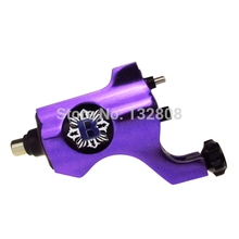 Hot Sale Bishop Rotary Tattoo Machine Guns Alloy Tattoo Machine With RCA Connection For Tattoo Body Art Free Shipping TM-558F