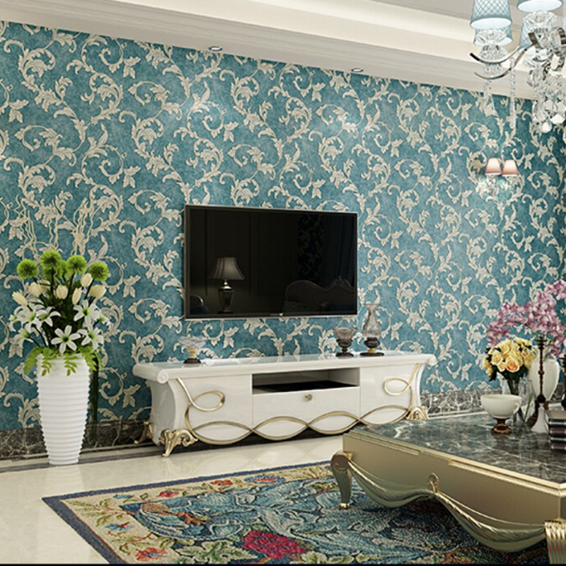 Beibehang 3D Stereo Bedroom 3D Wallpaper Retro Warm Nonwoven Living Room TV Background wall paper home decor papel de parede 3d<br>
