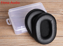 Fitma Audio Replacement Protein Leather Ear Pads Ear Cushions With Gift Box For SONY MDR-V6 MDR-7506 CD900ST headphones