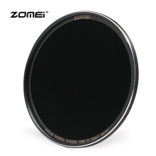 ZOMEI 58mm Ultra Slim Multi-Coated Neutral Density ND Filter ND1000 ND64 ND8 ND 3.0 1.8 0.9(China)