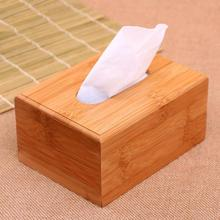 Paper Rack Creative Wood Home Rectangle Shaped Tissue Box Container Towel Napkin Tissue Holder FA5-13L