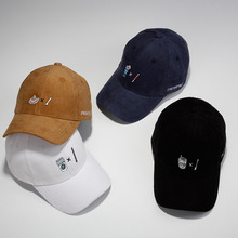High Quality Corduroy Drink Embroidery Snapback Dad Hats bone Baseball Caps Man 6 Panel Trucker Caps Casquette Gorras
