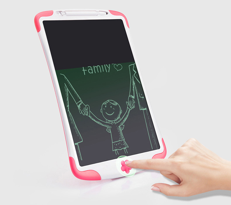AYMIMII LCD Writing Tablet Digital Ewriter 8.5 Inch Graphics Tablet Portable White Board Rugged Drawing Tablet for Kids Blue