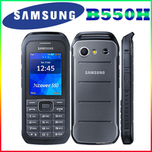 B550H 100% Original Unlocked Samsung B550H 2.4 Inches GPS GSM Cheap Refurbished Xcover 550 Mobile Phone Free Shipping