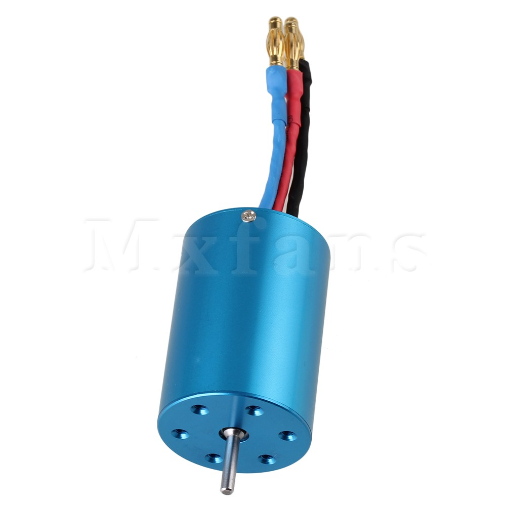 Mxfans N10056 Electric Engine Motor Brushless 540 Motor for RC1:10 Model Car Blue<br><br>Aliexpress