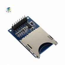 1pcs Hot Sale Reading and Writing Module SD Card Module Slot Socket Reader ARM MCU for arduino DIY Starter Kit(China)
