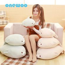 Super Soft Lovely Sea Seals Teddy Plush Stuffed Toys Sea World Animals Pillow Sweet Stuffed Seal Dolls Sleeping Cushion Birthday
