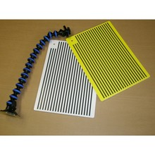 PDR Reflector Board Dent Repair Tools - white and yellow board Paintless Dent Removal tool kit(China)