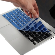 1pcs Keyboard Covers Silicone Membrane Waterproof Dustproof Keyboard Cover Skin Protector For Macbook Air 11.6 Colors Available
