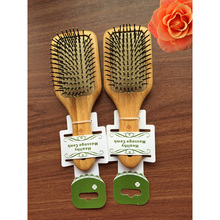 Hot Sale Massage Airbag Wood Comb Antistatic Detangling Wooden Hair Brush Combs&Brushes Fashion Styling Tool