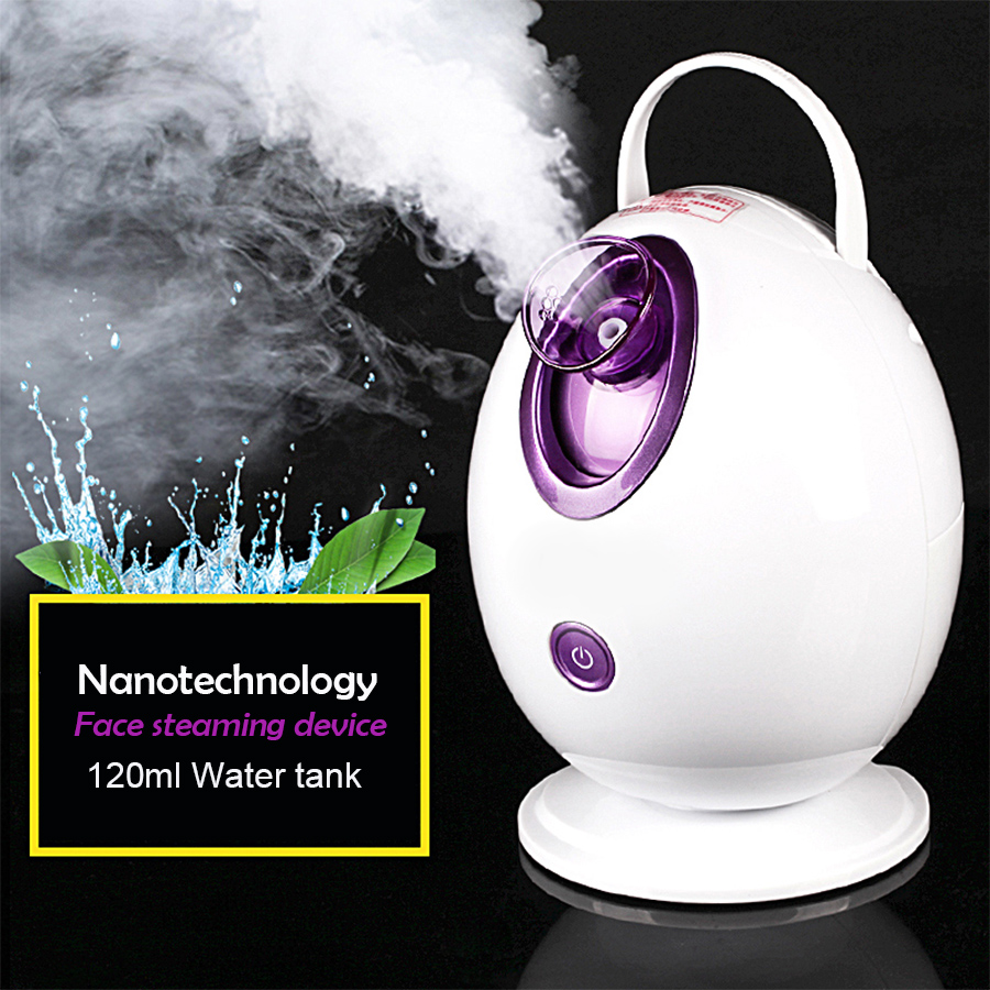 Deep Cleaning Facial Thermal Sprayer negative ion moisturizing steaming Facial Cleansing massage device Beauty health care <br>