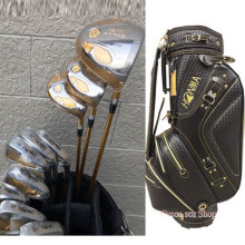 New mens Golf clubs S-05 Golf complete set of clubs Driver+3/5 fairway wood+irons+putter+bag graphite golf shaft free shipping