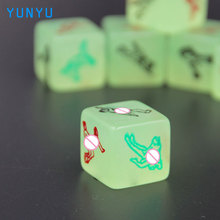3 Pcs Glow in the Dark Erotic Dice Night Lights Love Dice of Sex Fun Toys Noctilucent Sex Dice of Adult Game