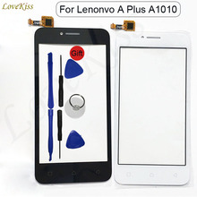 Front Panel For Lenovo A plus A1010 A 1010 A1010a20 Vibe B A2016a40 Touch Screen Sensor Digitizer LCD Display Glass Replacement(China)
