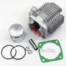 43cc 49cc Pocket Bike Cylinder Kit 44mm Bore for 2 Stroke Gas Scooter Mini Pocket Bike