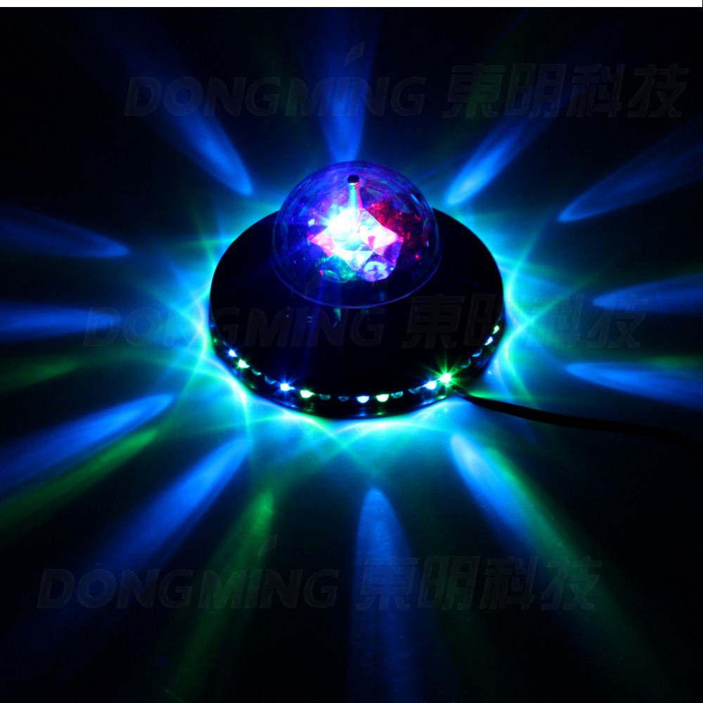 5pcs Hot LED Stage Light For Party,Bar,DJ,Holiday Decoration Romantic Rotating RGB Light 48 LEDs Creative Sunflower AC100-240V<br><br>Aliexpress